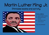Libritos sobre Martin Luther King Jr. Spanish Martin Luther King Jr. books