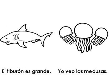 Libro - Animales del mar