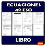 Libro - Ecuaciones 4º ESO
