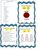 Libro Fonético – Sílabas con la letra C /s/