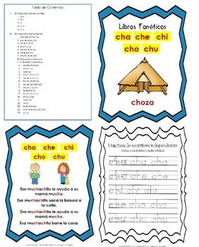 Libro Fonético – Sílabas con la letra Ch