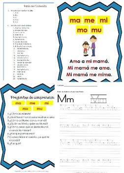 Libro Fonético – Sílabas con la letra M