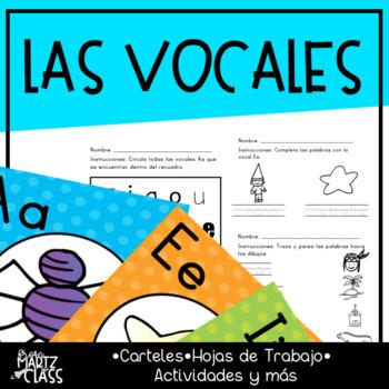 Libro Las vocales divertidas (ONLY IN SPANISH)