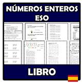 Libro - Números enteros ESO