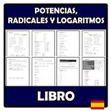 Libro - Potencias, radicales y logaritmos