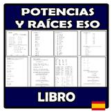 Libro - Potencias y raíces ESO