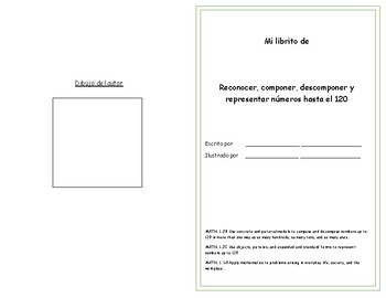 Libro - Componer, descomponer y representar números -120. Texas Edition