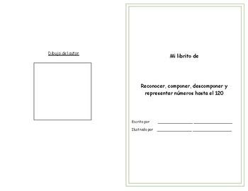 Libro - Reconocer, componer, descomponer y representar números hasta el 120
