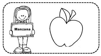 Libro de Frutas y Verduras Saludables para Niños