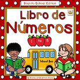 Libro de Numeros 1-5- Back to School Edition