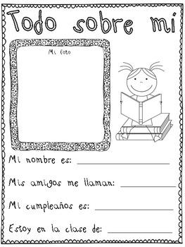 Libro de Recuerdos PK-2 (Memory Book PK-2 in Spanish)