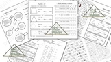 Math Review Mini Book 1 (Spanish)