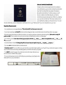 Libro de familia/Family tree project
