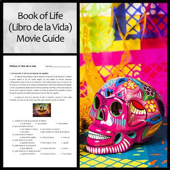 Libro de la vida (Book of Life) Movie Question Guide in Spanish