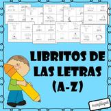 Libro de las letras (Spanish letter books) (A-Z)