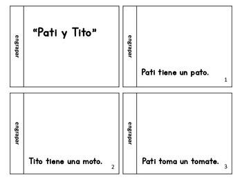 Libro de las silabas m, p, y t