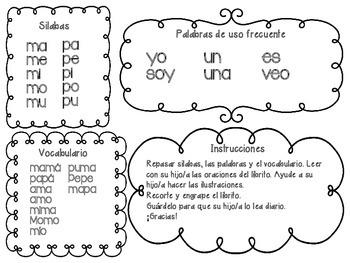 Libro de las silabas m y p