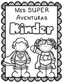 Superhero Editable Spanish Memory Book for Kinder thru 5th grade