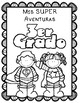 Superhero Editable Spanish Memory Book for Kinder thru 5th grade