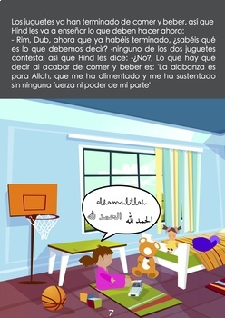 "Libro de modales islámicos ""Juguetes, ¡a comer!"