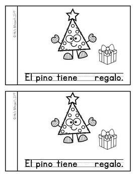 Libro de navidad- Christmas {FREEBIE}