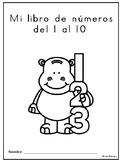 Libro de números del 1 al 10 (Counting Booklet Numbers 1-10)