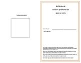 Libro de resolver problemas de suma y resta hasta el numer