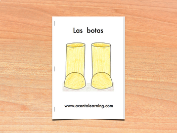 Libro nivelado para la letra b - Leveled book for the Letter B