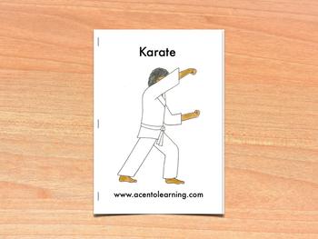 Libro nivelado para la letra k - Leveled Book for the Letter K