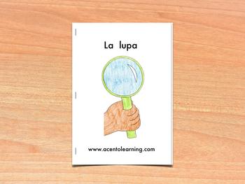 Libro nivelado para la letra l - Leveled Book for the Letter L