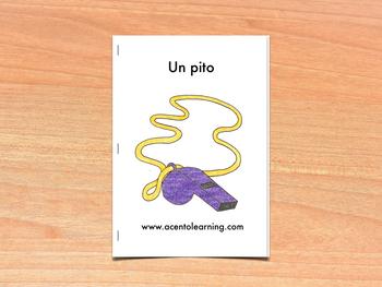 Libro nivelado para la letra p - Leveled Book for the Letter P