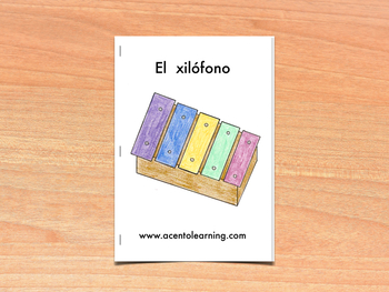 Libro nivelado para la letra x - Leveled Book for the Letter X