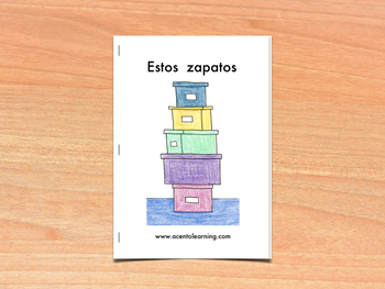 Libro nivelado para la letra z - Leveled Book for the Letter Z