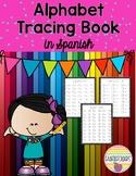 ALPHABET TRACING BOOK in Spanish
