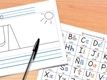 Librolandia Spanish Alphabet Chart - El abecedario de Librolandia