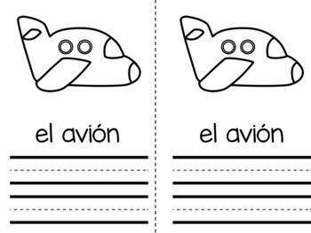 Libros con el alfabeto/Spanish Alphabet Books- Interactive and Differentiated