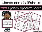Libros con el alfabeto/Spanish Alphabet Books- Interactive