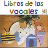Libros de  Vocales en Español.