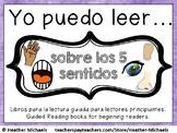 Libros de los 5 sentidos para la lectura guiada / Guided Readers - 5 Senses