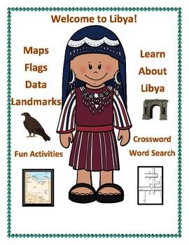 Libya Geography, Flag, Data, Maps Assessment- Map Skills and Data Analysis