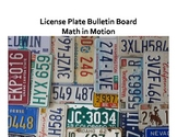 License Plate Bulletin Board