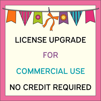 License upgrade - Commercial use - No Credit Required