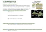 Lichen as Bioindicators Air Quality Lab