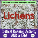 Lichens: Informational Text and Lab Activity