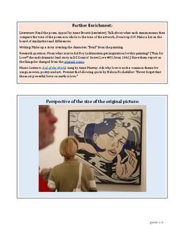 Lichtenstein Drowning Girl Pop Art