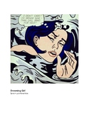 Lichtenstein Drowning Girl Pop Art
