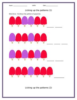 Licking Up Math Patterns