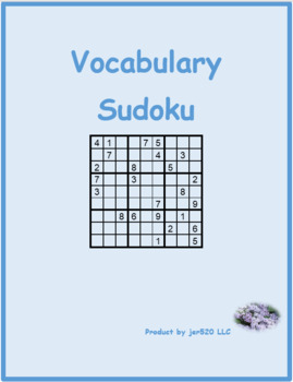 Liczby (Numbers in Polish) 1 to 9 Sudoku
