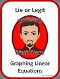 Lie or Legit: Graphing Linear Equations