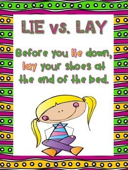 Lie vs. Lay Activity